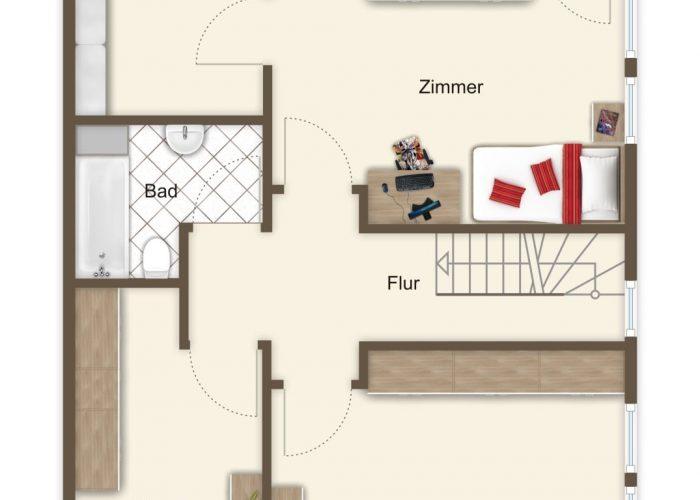 Doppelhaushälfte im Musikerviertel – eine feine Adresse